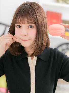 【macaron】伸ばしかけ☆ナチュラルボブ