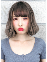 『 グレージュ × 毛束感 』 外国人風 カジュアル Bob ☆ 大人カワイイ.37