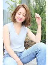 ROENA☆小顔大人かわいい☆くびれミディワイドバング OL.42