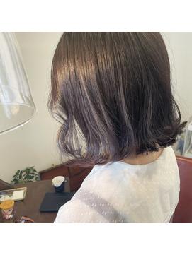 【ayari】バイオレットアッシュ
