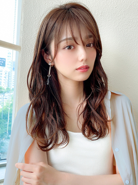 【AFLOAT 晃輔】20代30代大人可愛い シースルーバング 髪質改善