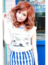 ☆CAPSULE☆波ウェーブ/ピンクブラウン ワッフル.52