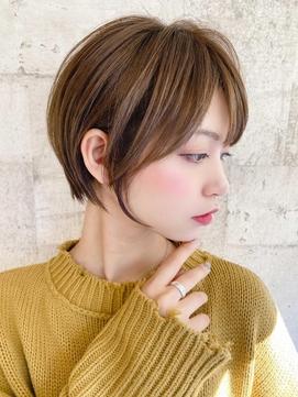 [The C 重田悠作] ショートヘア 前髪あり 小顔◎