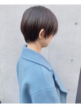 ◎モテ髪冬大人かわいいひし形ショートヘア小顔ボブ 渋谷表参道