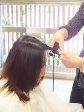 【御影】本当は、1番気になってるのは前髪では…?短時間で扱いやすいStyleに★【ポイント縮毛¥4310】