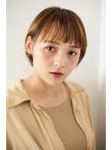 ミニボブ  平行前髪  スタイリッシュヘアー.15