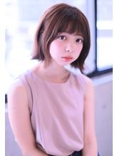 大泉学園【Omorfi】切りっぱなし ワンレンボブ .12