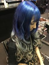 アンティークカラー ブルー シルバー TrickStyle☆ アンティーク.60