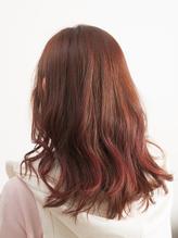 ピンクが可愛いゆるふわパーマ.58