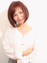 【morio池袋】秋人気ショートボブアシンメトリーショートバング 2017,ショート.33