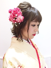 卒業式 ヘアセット 袴着付け【sola:neolive相模大野店】 卒業式,着物.20