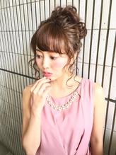 【AnFyeforprco】ルーズゆるお団子アップ☆花嫁様にも .42