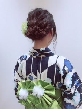 まとめ 浴衣 ヘアセット 袴 卒業式