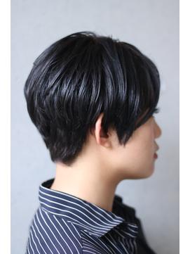 【西葛西&-HAIR】黒髪大人メンズショート
