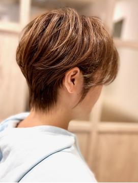 40代50代60代70代  耳かけショート -名古屋の美容室actif-