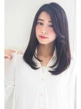 【aL-ter LieN】黒髪、暗髪☆ストレートセミディ TAKU 就活.45