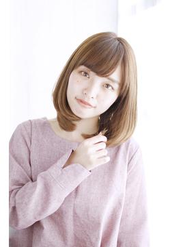 ひし形小顔レイヤースタイル 【キレイめ愛され】