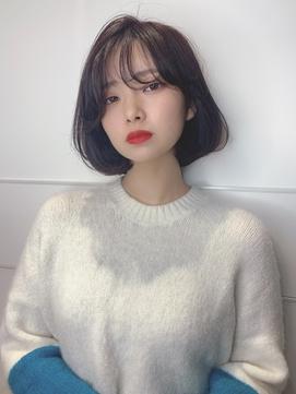 【sweep】韓国風ボブ × タンバルモリ【野田】