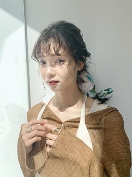 アレンジ/スカーフヘアセット