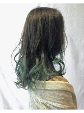 グリーングラデーションカラー