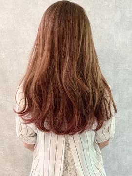 【iIIL hair lounge】ナチュラルグラデーション 裾カラー 高崎