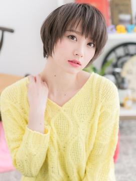 【macaron】グレージュショート