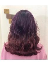 【バイオレット&ピンク】原色グラデーション★.50