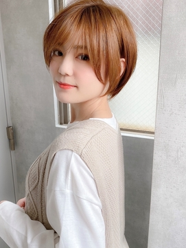 《Agu hair》美シルエット×タイトショート