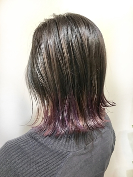 【Lilly渋谷】ラベンダーxピンクxユニコーンカラー