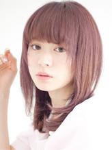 【PATIONN 田中 宏吉】ナチュラル内巻きミディアムレイヤー 春色.3
