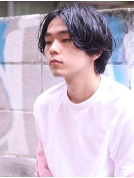H 原宿*センターパート『ミディアムパーマ』【hayashi】