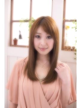 【miel hair blanc】愛されシルキーストレート☆