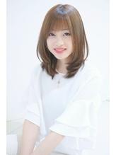 ≪Renee≫☆うるツヤ透明感!ミディアムストレート .21