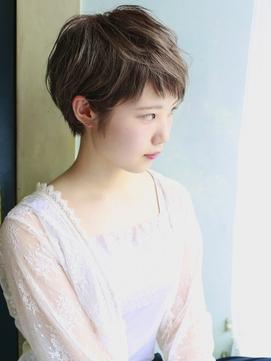 天神【BIRTH】美髪×ハイライト×マニッシュショート3