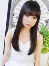 【ヘアジュレドゥ古居】 黒髪清純ストレートロング☆ 清純.34