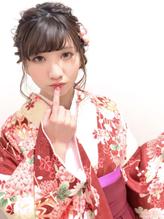 卒業式 袴 成人式 振袖 ルーズ ヘアアレンジ 卒業式.38