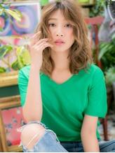 *+COVER HAIR+*…抜け感グラマラス!無造作ウェーブa パーティ.45