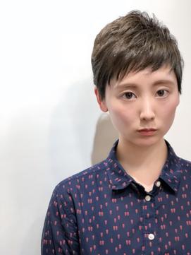 ショートバングが可愛い☆ベリーショート 【大西翔】
