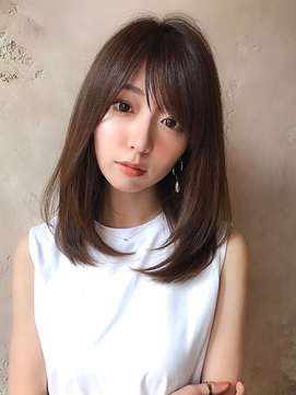 【Lond damaskRose】津田稜也 王道前髪&ミディアムレイヤー