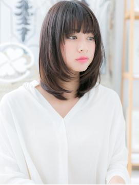 好感♪黒髪・小顔ワンカールボブディf越谷10代20代30代40代!