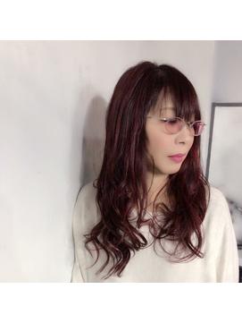 【奈良/inni hair】レッド