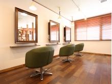 """階段先に広がるプライベートサロン""""Ponte""""☆2階に構えるカフェのようなオシャレ空間で髪から美しく…♪"""