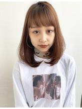 内巻きナチュラルデジタルパーマ ひし形シルエットミディ.13