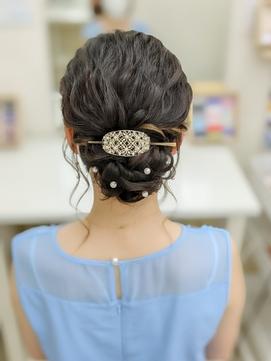 結婚式アップヘア☆+゜