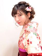 卒業式 袴 成人式 振袖 ルーズ ヘアアレンジ ウェディング.56