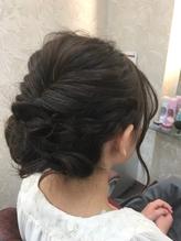 ☆編み込みパーティーアップスタイル☆ .31
