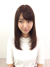 柏木由紀さんヘア  セミディ  レイヤースタイル.27