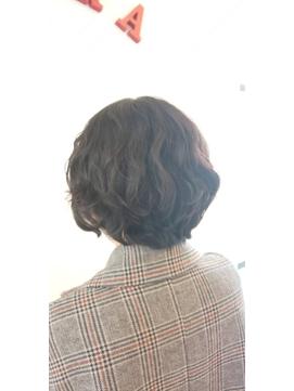 ショートパーマスタイル【浜松/浜松市/浜松駅/髪質改善/スパ】