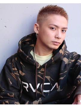 【IRIE HAIR赤坂】フェード×ソフトモヒカン×ハイトーン
