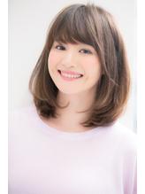 【Ramie】加藤貴大 30代40代にオススメな内巻きセミディ 内巻き.25